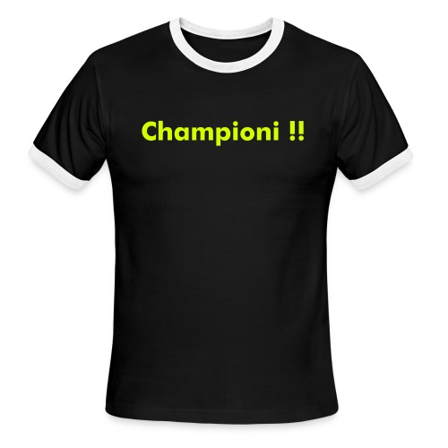 Tom Champion - Men's Ringer T-Shirt
