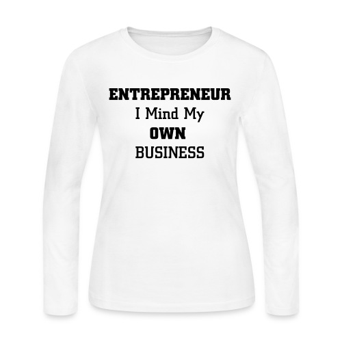 Entrepreneur - Women's Long Sleeve Jersey T-Shirt