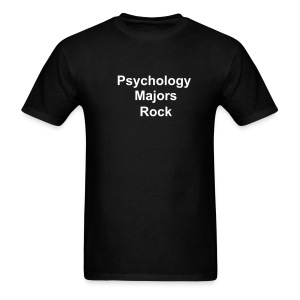 Psychology Majors Rock - Men's T-Shirt