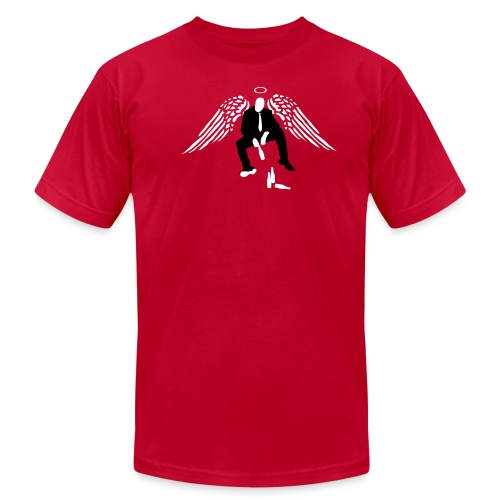 [drinkingangel] - Men's T-Shirt by American Apparel