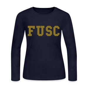 Women's Long Sleeve FUSC - Women's Long Sleeve Jersey T-Shirt