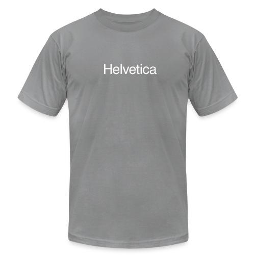Helvetica American Apparel - Men's Fine Jersey T-Shirt