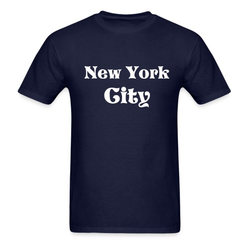New York City - Men, blue/white - Men's T-Shirt