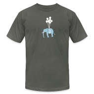 T-Shirts ~ Men's T-Shirt by American Apparel ~ [elephant]