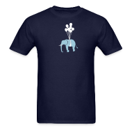 T-Shirts ~ Men's T-Shirt ~ [elephant]