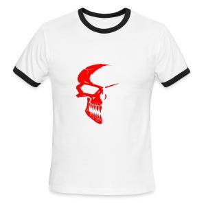 Red Skull Shirt - Men's Ringer T-Shirt
