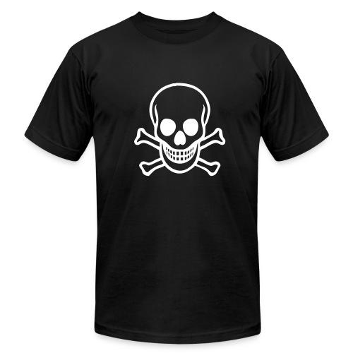 Skull & Crossbones Jersey T-Shirt - Men's Fine Jersey T-Shirt