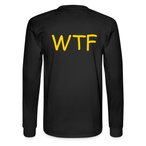 WTF, not FBI - Men's Long Sleeve T-Shirt