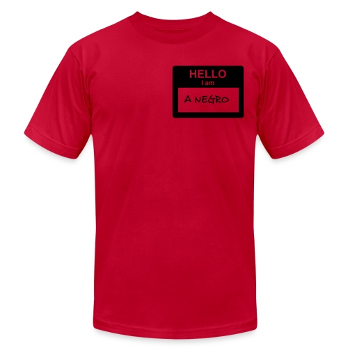 Official Hello, Negro Shirt - Men's  Jersey T-Shirt