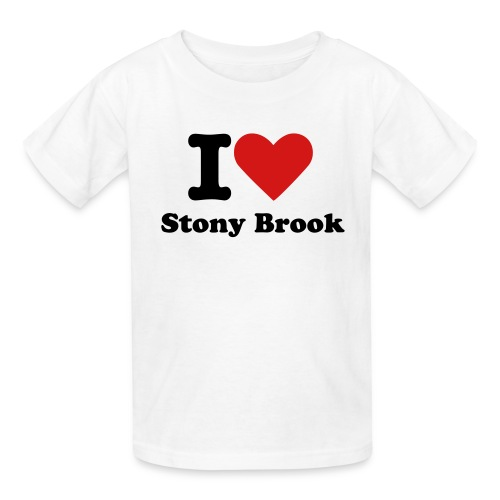 Kids' T-Shirt - I Love Stony Brook