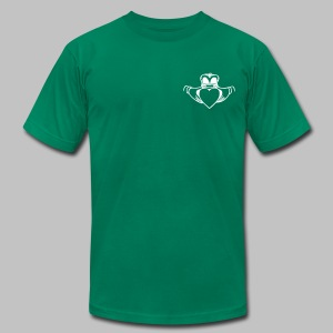 Irish Claddagh - Men's T-Shirt by American Apparel