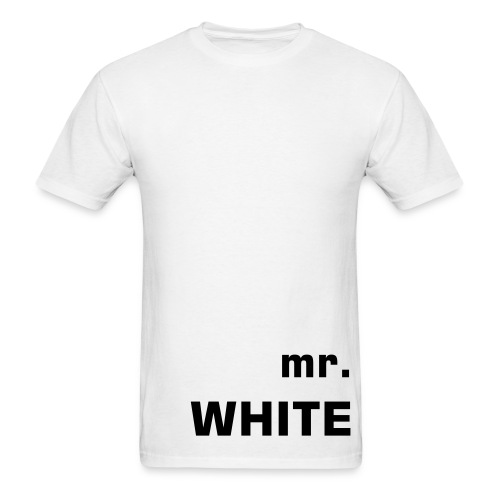 .white. - Men's T-Shirt