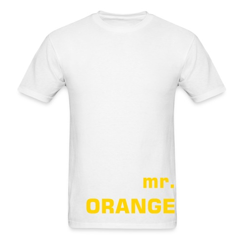 .orange. - Men's T-Shirt