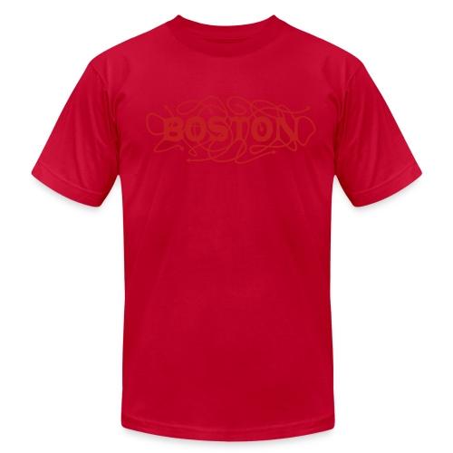 Lost In Boston - Men's Fine Jersey T-Shirt