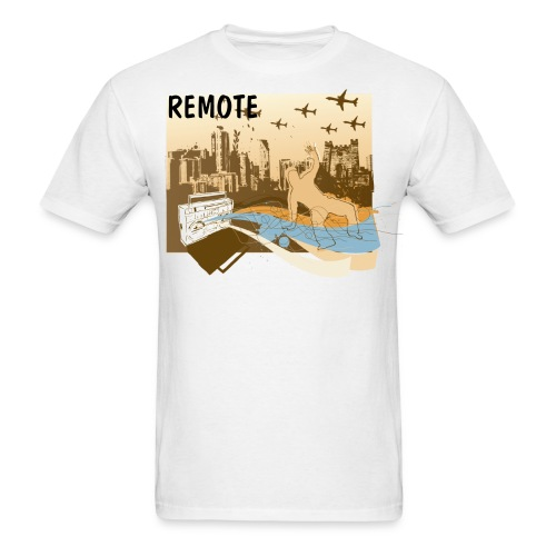REMOTE tee - Men's T-Shirt