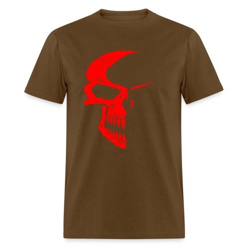 SKULL RED/BLK - Men's T-Shirt