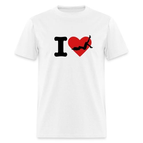 I LOVE GIRLS - Men's T-Shirt