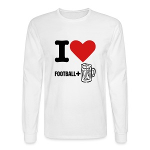Football Love - Men's Long Sleeve T-Shirt