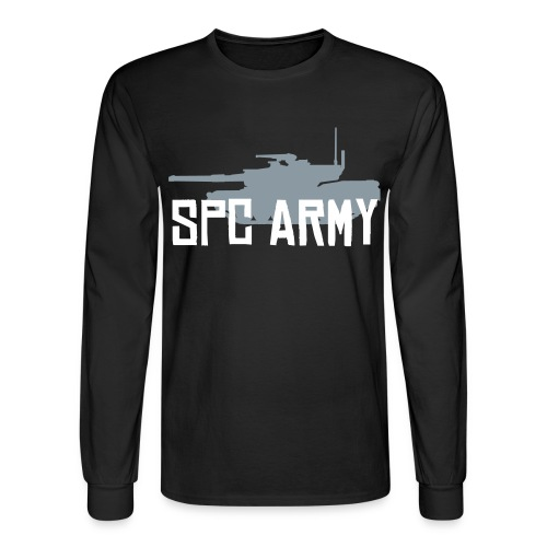 Men's SPC Army LS Tee! - Men's Long Sleeve T-Shirt