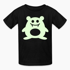 Happy Vampire Hamster - Glow in the Dark