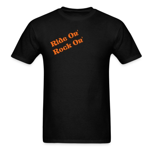Ride On' Rock On' T-shirt - Men's T-Shirt