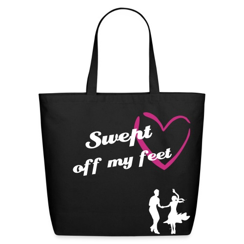 Swept off my feet ~ Engaged - Eco-Friendly Cotton Tote