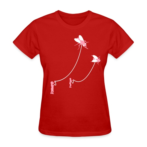 [flies] - Women's T-Shirt
