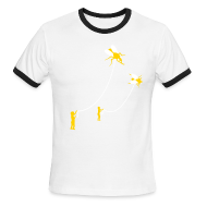 T-Shirts ~ Men's Ringer T-Shirt ~ [flies]