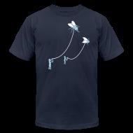 T-Shirts ~ Men's T-Shirt by American Apparel ~ [flies]