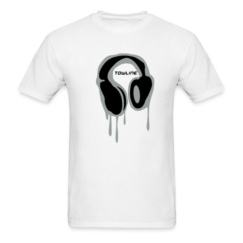 Bleeding Phones Tee (White) - Men's T-Shirt