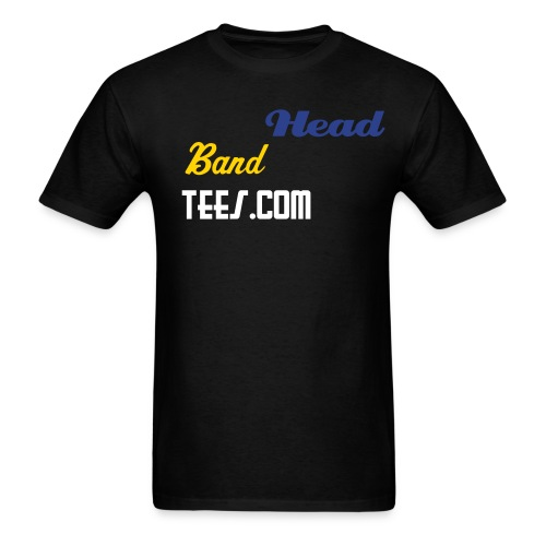 Black HBT - Men's T-Shirt