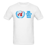 T-Shirts ~ Men's T-Shirt ~ UN: Visualize World Peace