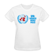 Women's T-Shirts ~ Women's T-Shirt ~ UN: Visualize World Peace
