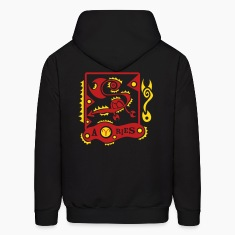 Black Aries-Zodiac-Sign Sweatshirt