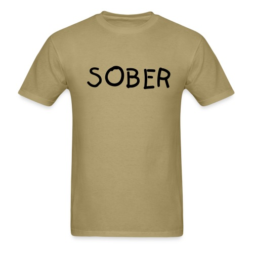 Sober shirt - Men's T-Shirt