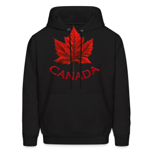 Canada Maple Leaf Design - Men's Hoodie