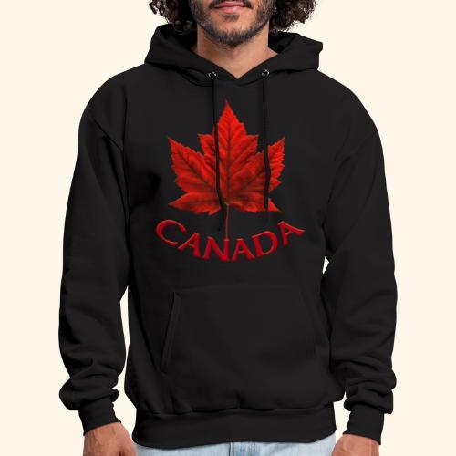 Canada Maple Leaf Design - Men's Hoodie