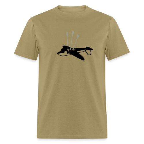 Plane Hunting - Men's T-Shirt