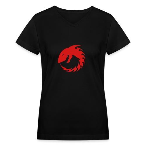 WOMENS V-NECK  - Women's V-Neck T-Shirt