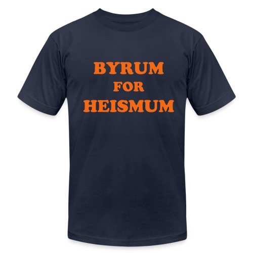 Byrum for Heismum - Men's Fine Jersey T-Shirt