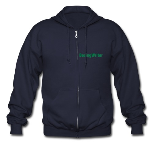 The Fighter - Men's Zip Hoodie