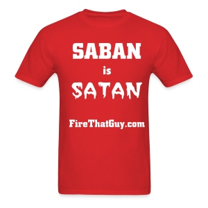 SABAN IS SATAN - Men's T-Shirt