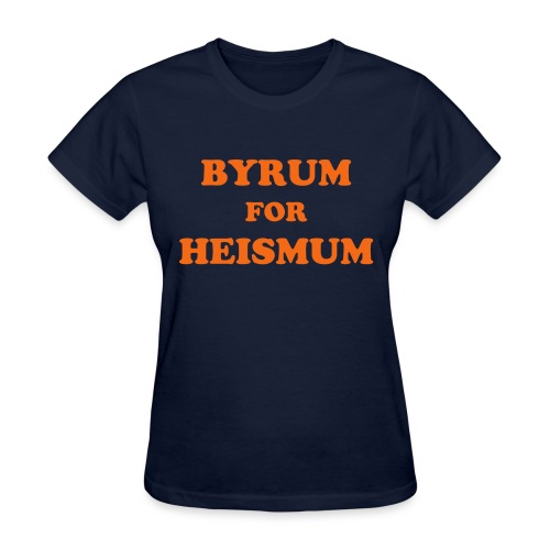 Byrum for Heismum (Ladies) - Women's T-Shirt