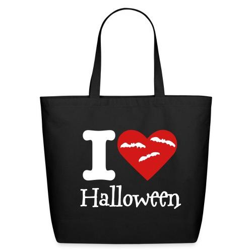 I Love Halloween  - Eco-Friendly Cotton Tote