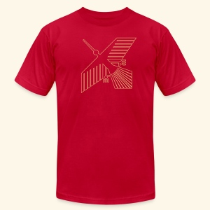 Xevian Bird - Men's T-Shirt by American Apparel