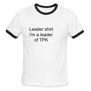 Leader Shirt - Men's Ringer T-Shirt
