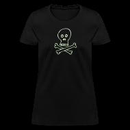 T-Shirts ~ Women's T-Shirt ~ Glow Skull - Women's Lightweight