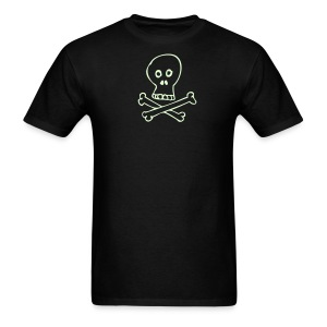 Glow Skull - Men's Lightweight - Men's T-Shirt
