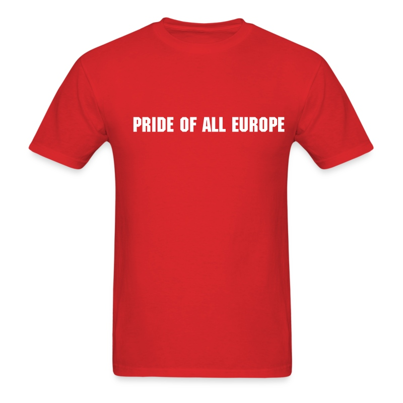 Pride Of All Europe - Men's T-Shirt