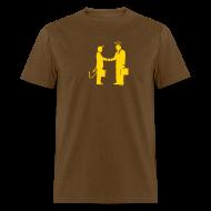 T-Shirts ~ Men's T-Shirt ~ [handshake]